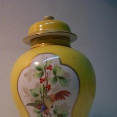Antigüedades: TIBOR DE PORCELANA SANTA CLARA. Lote 27131764