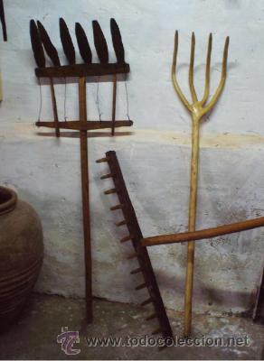 Horca o vienda antiguo aperos de labranza comprar - Aperos agricolas antiguos ...