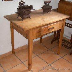 Antigüedades: MESA TOCINERA , MUEBLE ,,, MUE365. Lote 150370404