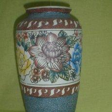 Antigüedades: PRECIOSO JARRON FLORES. Lote 26337459