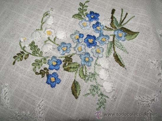 Mantel bordado a mano vendido en subasta 16219462 - Manteles bordados ...