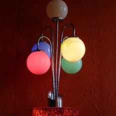 Antigüedades: LAMPARA SOBREMESA AÑOS 60 POSIBLEMENTE VALENCIANA. Lote 15298702