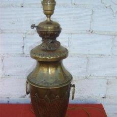 Antigüedades: LAMPARA DE VELADORES DE METAL. Lote 15311838