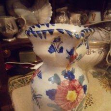 Antigüedades: PRECIOSA JARRA DE TALAVERA EN PICO , AUTOR NIVERO.. Lote 26662303