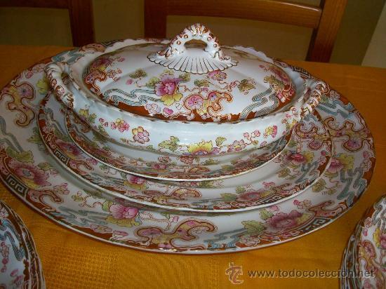 Que vajilla inglesa art nouveau la comprar porcelana inglesa antigua bristol en - Vajilla inglesa ...