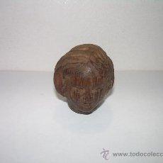 Antigüedades: ANTIGUA Y PEQUEÑA TALLA DE MADERA NOBLE.. Lote 17833642