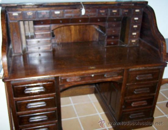 buro escritorio ingles, tipo roll. roble, haci - Comprar Escritorios ...