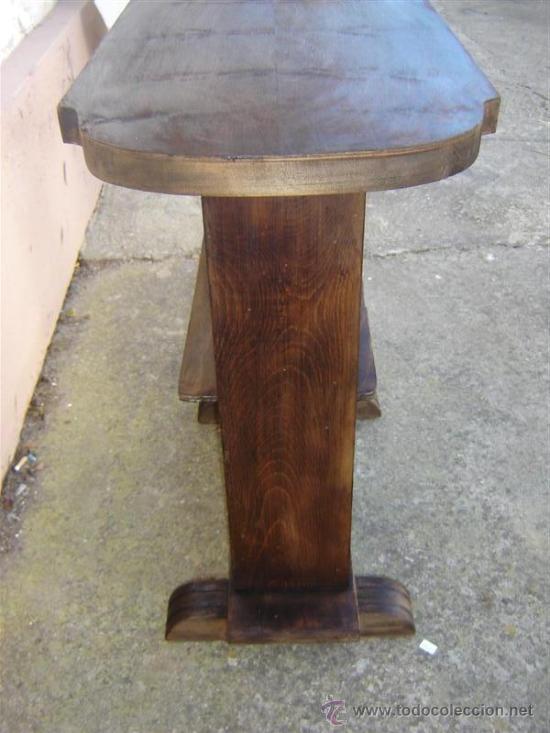 Antigüedades: mesita auxilar nogal - Foto 4 - 15501157