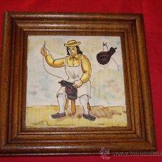 Antigüedades: MOSAICO DE ALCORA. Lote 26673168