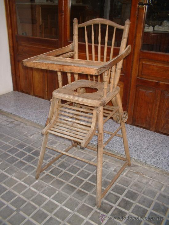 Antiguo sillon trona y tacata en madera y rueda comprar sillones antiguos en todocoleccion - Sillones antiguos para restaurar ...