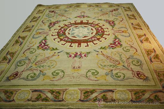 Vendo alfombra antigua de la real fabrica de ta comprar alfombras antiguas en todocoleccion - Fabricantes de alfombras ...