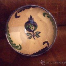 Antigüedades: CUENCO GRANADINO. FAJALAUZA.. Lote 26866685