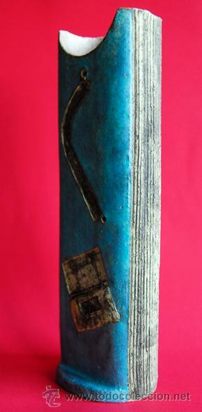 Antigüedades: FLORERO HECHO A MANO. - Foto 2 - 26897939