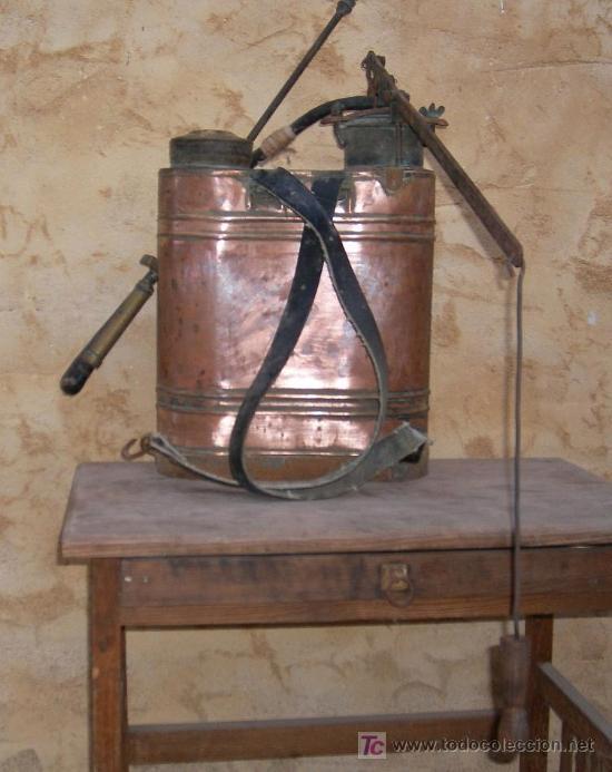 Antigüedades: sulfatadora de cobre antigua, apero de labranza ,,,APE365 - Foto 3 - 54209893