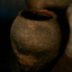 Antigüedades: ANTIGUA TINAJA DE BARRO - ORZA. Lote 23935392