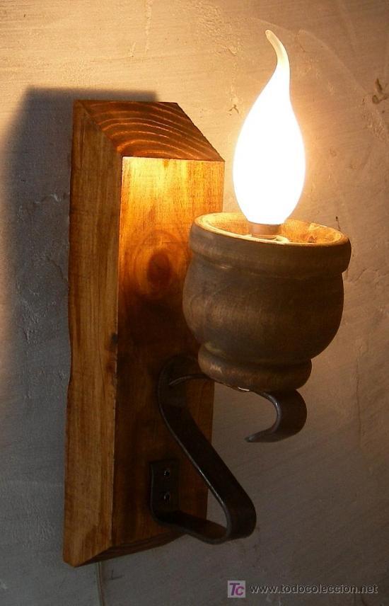 Aplique almirez rustico aplique apli365 comprar - Apliques de luz rusticos ...