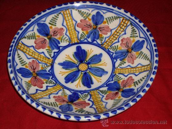 Plato de ceramica de talavera comprar cer mica y for Platos de ceramica
