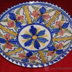 Antigüedades: PLATO DE CERAMICA DE TALAVERA. Lote 27083155