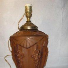 Antigüedades: LAMPARA DE MESA ART DECO. Lote 26970844