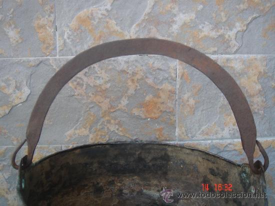 Antigüedades: VISTA DE LA ASIDERA EN HIERRO FORJADO - Foto 3 - 26916978