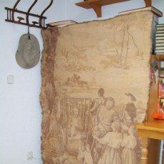 Antigüedades: GRAN TAPIZ. ESCENA QUIJOTESCA.. Lote 17006131