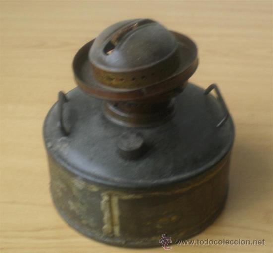 Antigüedades: QUINQUE de chapa - Foto 2 - 15909918