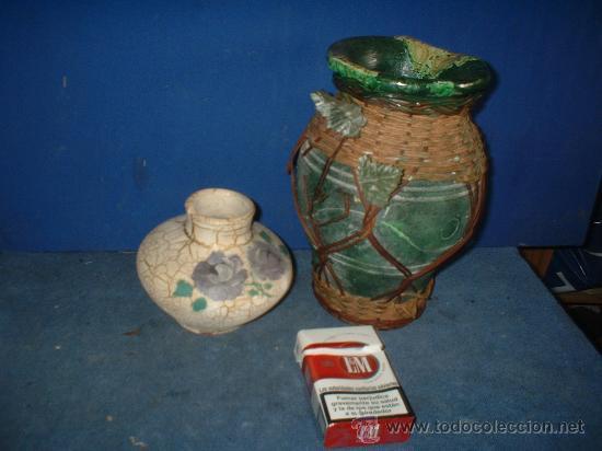 JARRONES-2 (Antigüedades - Porcelanas y Cerámicas - Otras)