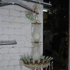 Antigüedades: LAMPARA DE BRONCE. Lote 15971043