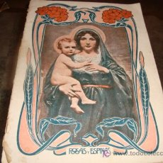 Antigüedades: REVISTA RELIGIOSA ROSAS Y ESPINAS, OCTUBRE 1924 . Lote 16009458