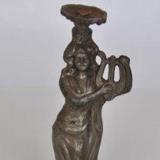 Antigüedades: FIGURA DE MUJER, REMATE DE ?.. Lote 27241585