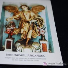 Antigüedades: ESTAMP SAN RAFAEL ARCANGEL. Lote 16288133