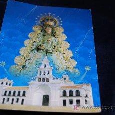 Antigüedades: ESTAMP VIRGEN DEL ROCIO, ALGUNAS ARRUGAS. Lote 16288339