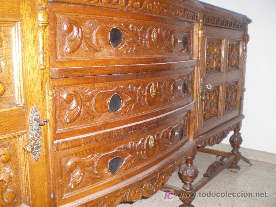 muebles comedor renacimiento años 1950 - - Kaufen Antike Vitrinen in ...