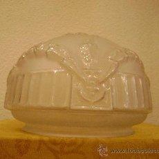 Antigüedades: PLAFON DE CRISTAL PARA LAMPARA. Lote 23671954