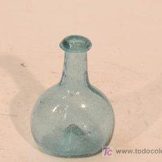 Antigüedades: FIGUETA EN VIDRIO VERDE SOPLADO. PROCEDENCIA CATALUÑA. SIGLO XIX. Lote 16316141