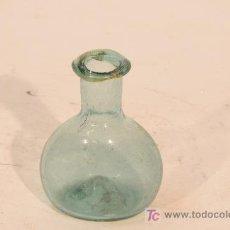 Antigüedades: FIGUETA EN VIDRIO VERDE SOPLADO. PROCEDENCIA CATALUÑA. SIGLO XIX. Lote 16316167