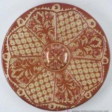 Antigüedades: PLATO DE REFLEJOS 37,7 CM DE DIÁMETRO. Lote 20466565