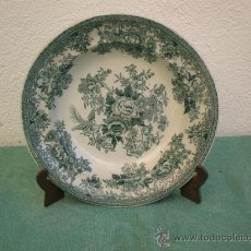 Antigüedades: PLATO HONDO INGLES. Lote 16460360
