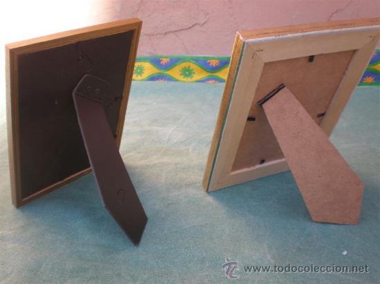 Antigüedades: 2 marcos portaretratos - Foto 2 - 16460539