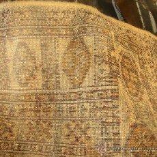 Antigüedades: ANTIGUA ALFOMBRA TAMAÑO GRANDE. Lote 26953408