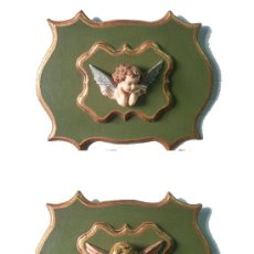 Antiquitäten - PAREJA DE ANGELITOS - 26700414