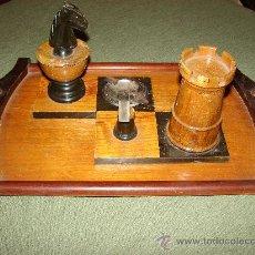 Antigüedades: JUEGO ANTIGUO DE FUMADOR. Lote 27385082