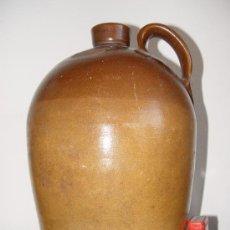 Antigüedades: ANTIGUA GARRAFA CANECO DE GRES - 3 GALONES. STONEWARE JAR. ENGLAND.. Lote 26737844
