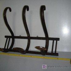 Antigüedades: PERCHERO DE 3 BRAZOS ORIGINAL BUENA CONSERBACION . Lote 26701777