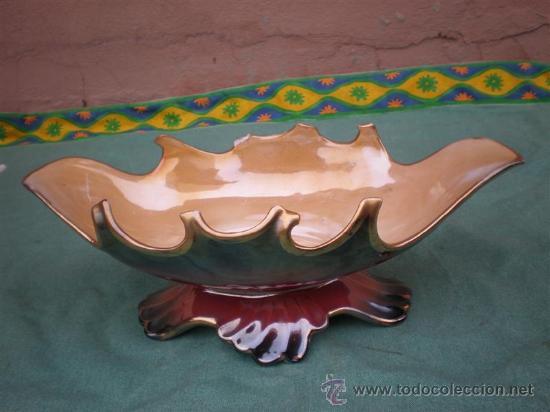 CENTRO DE MESA CERMICA (Antigüedades - Porcelanas y Cerámicas - Otras)