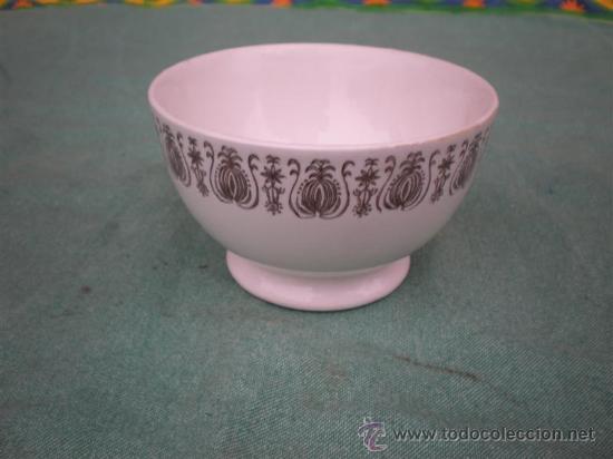 TAZON DE PORCELANA FIRMADO (Antigüedades - Porcelanas y Cerámicas - Otras)