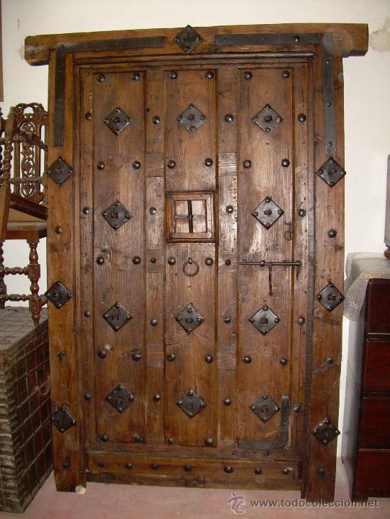 Elegante porton antiguo comprar portafotos antiguos en for Portones de madera antiguos