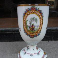 Antigüedades: COPA DE CRISTAL DE LA GRANJA. Lote 16930191