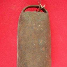 Antigüedades: ANTIGUO CENCERRO GRANDE. Lote 16933789