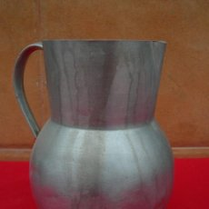 Antigüedades: ANTIGUA JARRA DE ALUMINIO. Lote 16945155